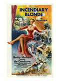 Incendiary Blonde  Betty Hutton  Arturo de C—rdova Cordova  1945  USA