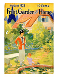 Fruit Garden and Home  1923  USA