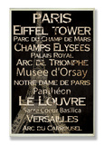 Paris Cities & Words