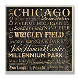 Chicago Landmarks Typography