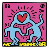 Boutique pop (coeur) œuvre tableaux par Keith Haring