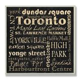 Toronto Landmarks Typography