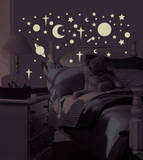 Celestial Peel & Stick Wall Decals