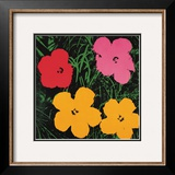 Flowers  c1964 (1 red  1 pink  2 yellow)