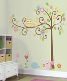 Happi Scroll Tree Peel & Stick Wall Decal MegaPack
