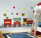 All Aboard Peel & Stick Wall Decal MegaPack