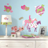 Horse Crazy Peel & Stick Wall Decals