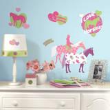 Horse Crazy Peel & Stick Wall Decals