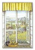 Provence with Pear Window