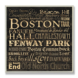 Boston Landmarks Typography