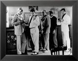 Jean-Paul Belmondo, Lino Ventura et Bernard Blier : 100.000 Dollars au Soleil, 1964 Photo encadrée par Limot