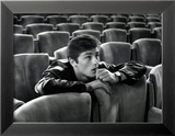 Alain Delon in a Movie Theatre
