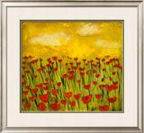 Sunny Poppy Field I