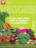 Veggies MyPlate Food Group Poster