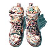 Sneaker Reproduction d'art par HR-FM