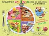 Kids MyPlate Spanish Poster