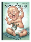 The New Yorker Cover - May 14  2001