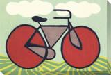 Red Wheeled Bike
