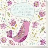 Pink Bird - Those Who Wish To Sing Always Find a Song