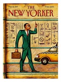 The New Yorker Cover - March 10  1997