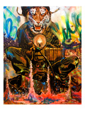 We Are Tigers Reproduction d'art par Shark Toof