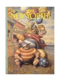 The New Yorker Cover - September 6  1993
