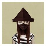 Ceci N'Est Pas Un Chapeau Reproduction d'art par Ruben Ireland