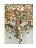 The New Yorker Cover - November 13  1995