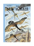 The New Yorker Cover - April 17  2000