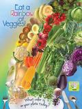Veggie Rainbow Poster
