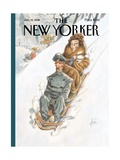 The New Yorker Cover - January 19  1998