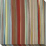 Soft Thin Vertical Stripes Warm Multicolor