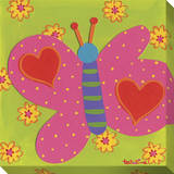 Pink Butterfly Hearts