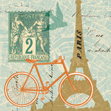 Postcard from Paris Collage