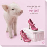 In The Pink! - High Heel Pig 1