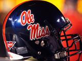 University of Mississippi (Ole Miss) - Ole Miss Football Helmet