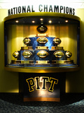 University of Pittsburgh - National Championship Trophies