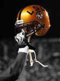 Louisiana State University - Gold LSU Helmet