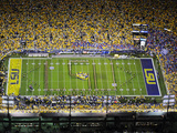 Louisiana State University - Band Spells LSU on the Field at Tiger Stadium