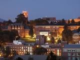 Washington State University - Washington State Campus at Night