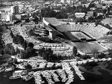 University of Washington - Vintage Aerial View of Husky Stadium