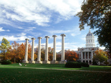 University of Missouri - Missouri Columns and Jesse Hall