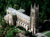 Duke University - Duke Chapel from the Air