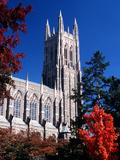 Duke University - Duke Chapel View from Below