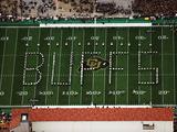 University of Colorado - Buffs Spelled Out on Folsom Field