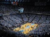 University of North Carolina - UNC vs Duke in the Dean E Smith Center