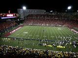 University of Cincinnati - Nippert Stadium under the Lights
