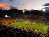 University of Colorado - Sun Sets at Folsom Field
