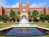 Florida State University - Fountain at the Westcott Building