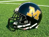University of Missouri - Mizzou Helmet Sits on the Field